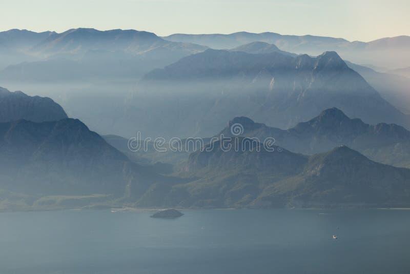 fog góry zdjęcia stock