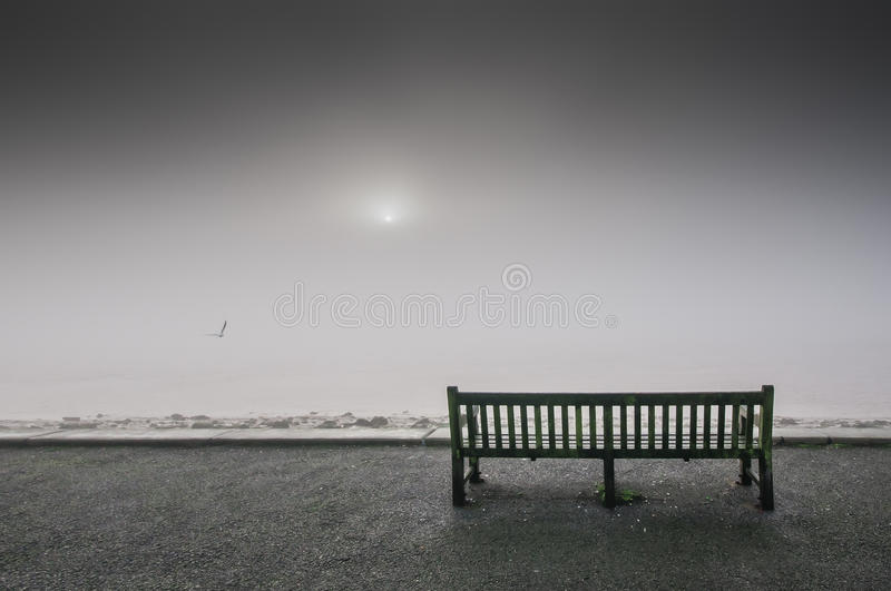 Fog Over The River Humber Stock Photos