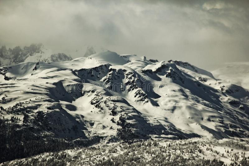 Fog Over Snowy Mountains Free Public Domain Cc0 Image