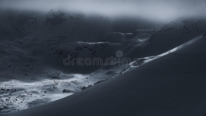 Download When the fog rises stock image. Image of slovensko, wierch - 83869293