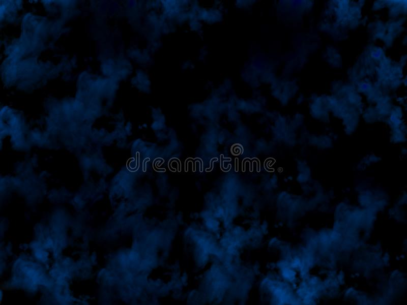 Fog or smoke isolated special effect. blue cloudiness, mist or smog background. royalty free stock photo