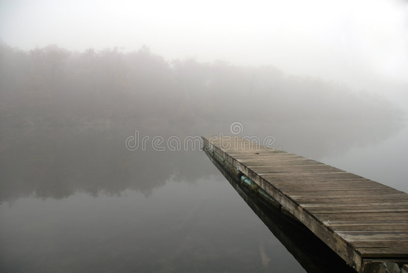 Fog On The Water royalty free stock photo