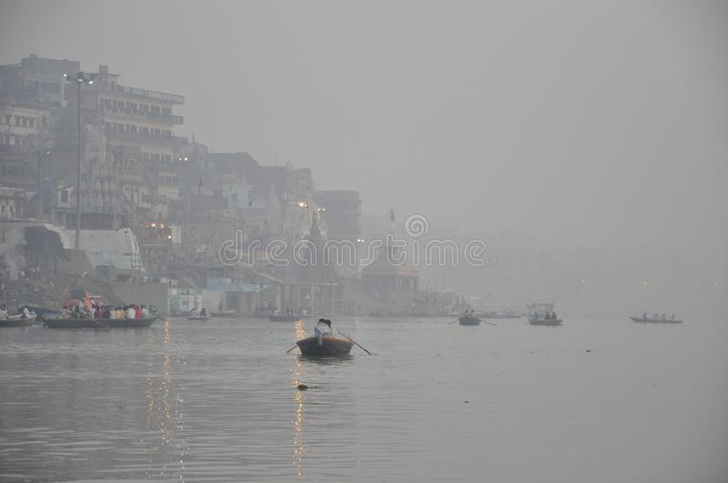 Fog, Waterway, Water, Mist royalty free stock photography