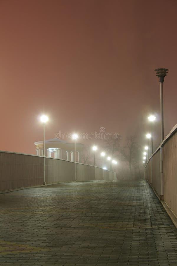 fog02傲德萨 免版税库存照片