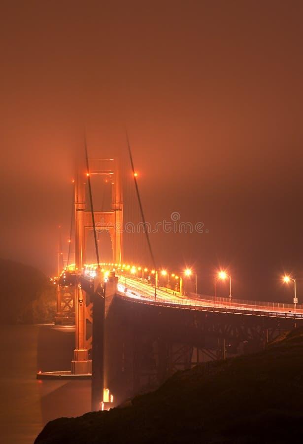 Free Fogged In Golden Gate Bridge Royalty Free Stock Image - 3003056