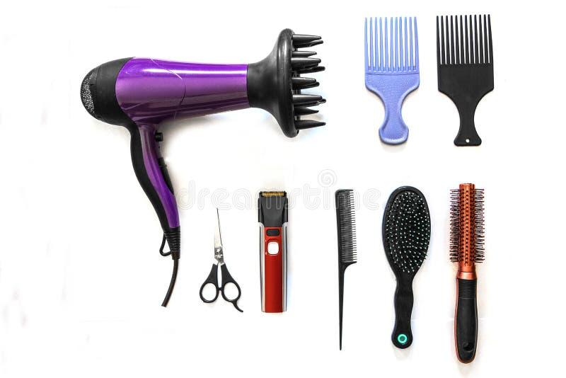 Foggia il parrucchiere per tagliare i capelli immagini stock libere da diritti