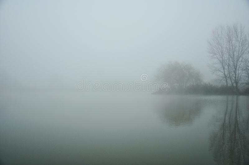 Foggy day royalty free stock images