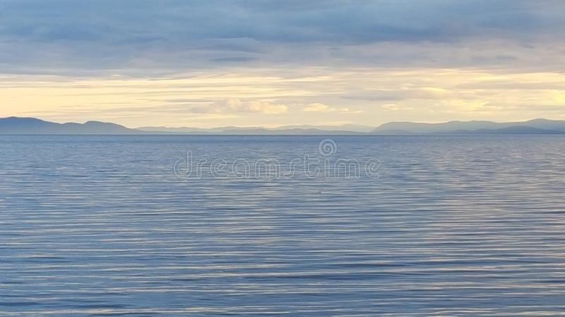 Foggy Islands royalty free stock images