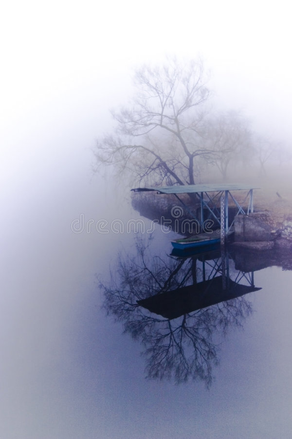 Free Foggy Lake Stock Photos - 1927803