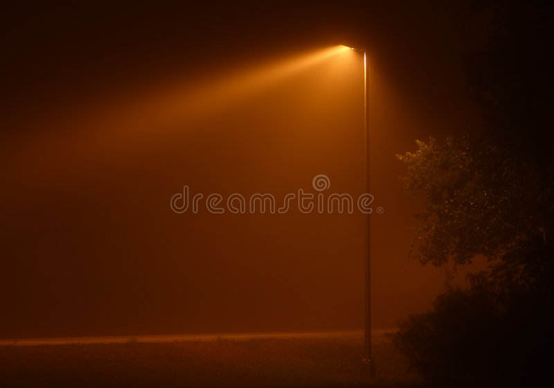 Download Foggy Light stock photo. Image of foggy, mist, black, light - 3806300