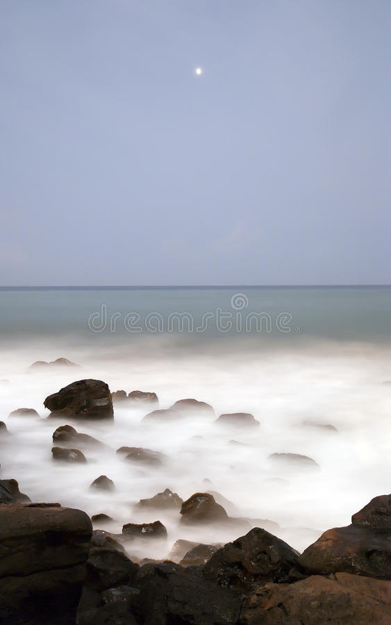 Foggy Ocean Sea Mist Royalty Free Stock Photo
