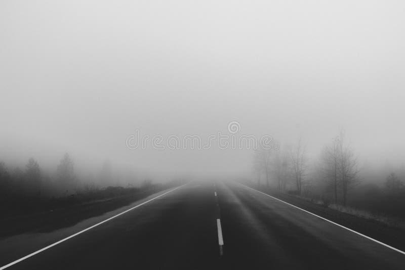 Foggy Road Free Public Domain Cc0 Image
