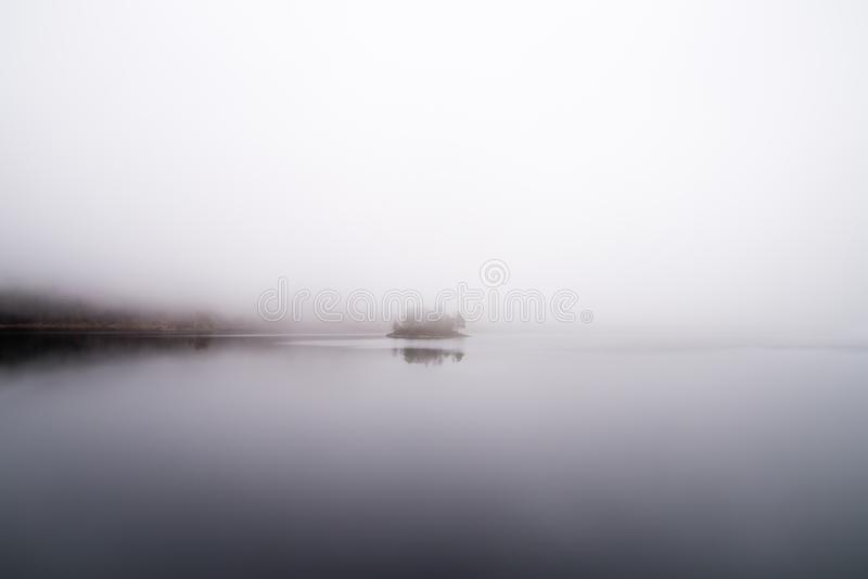 Foggy Waters stock photo