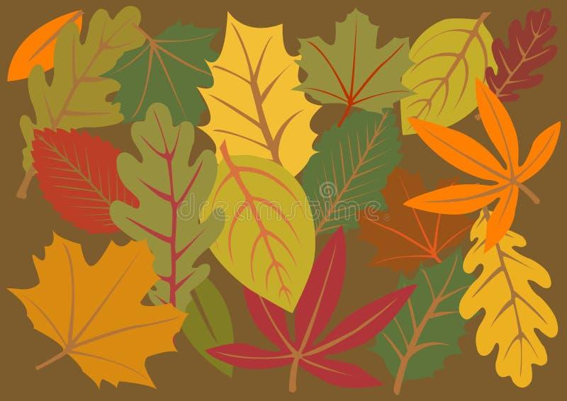 Fogli di autunno royalty illustrazione gratis