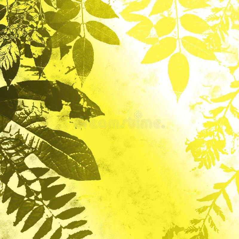 Fogli di autunno luminosi illustrazione vettoriale