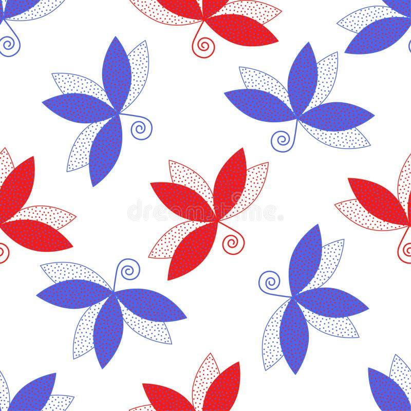 Foglia pattern2 illustrazione vettoriale