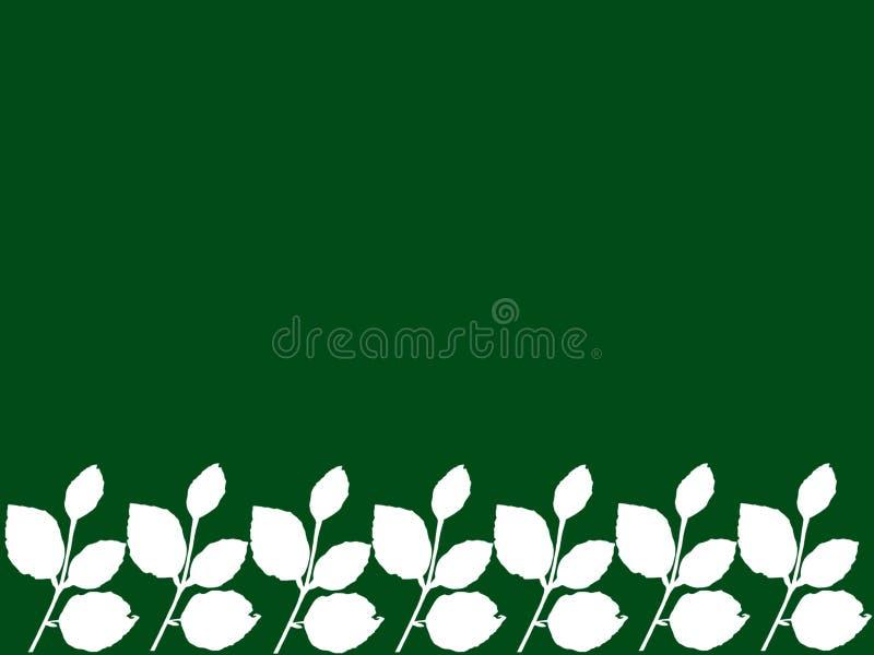 foglie con fondo verde fotografie stock libere da diritti