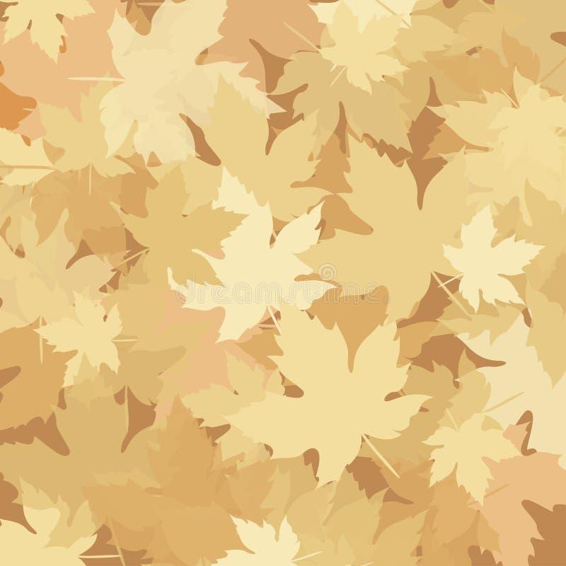 Foglie di autunno, stagione di caduta illustrazione di stock