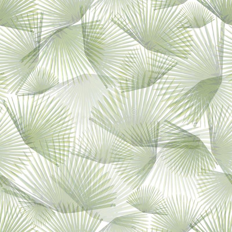 Foglie di palma 1 illustrazione vettoriale