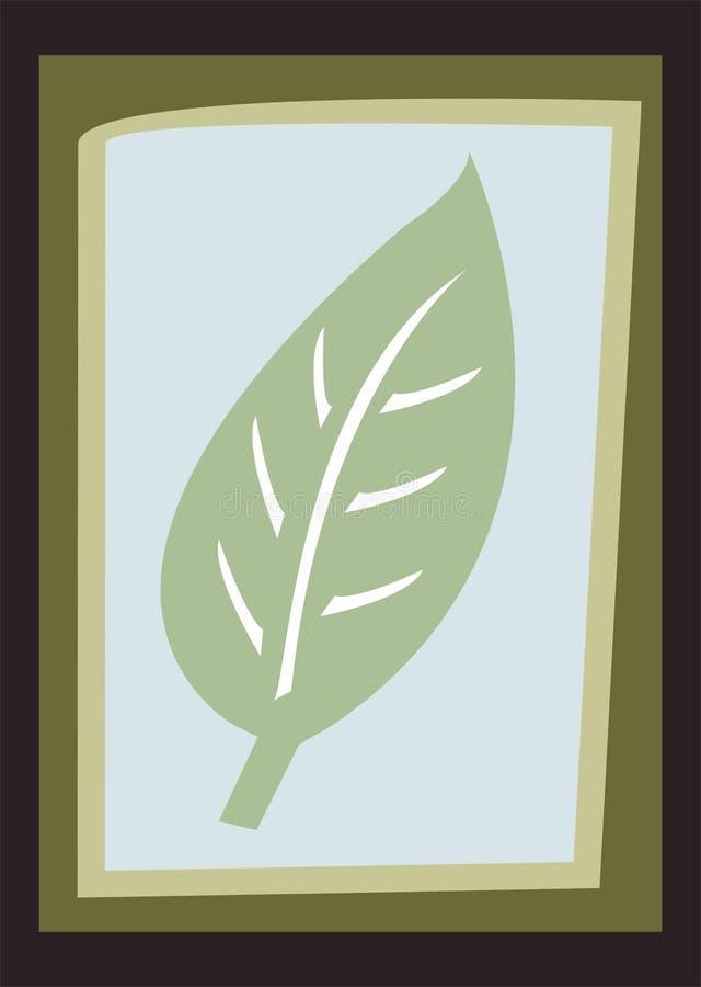 foglio illustrazione vettoriale