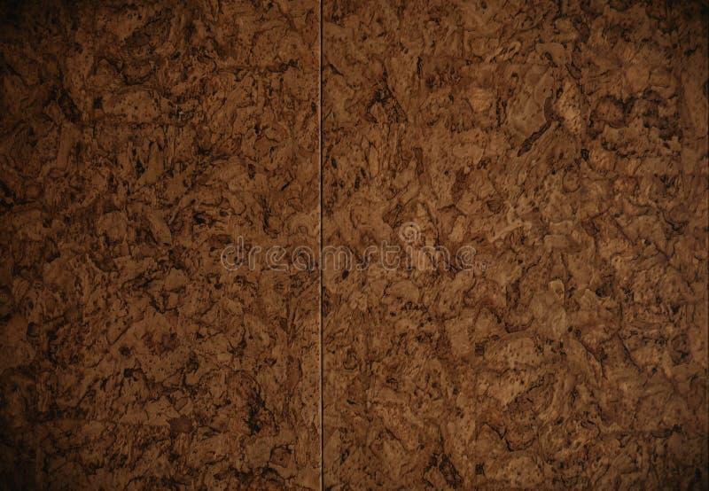 Foglio di carta del cartone di Brown struttura del fondo fotografia stock libera da diritti