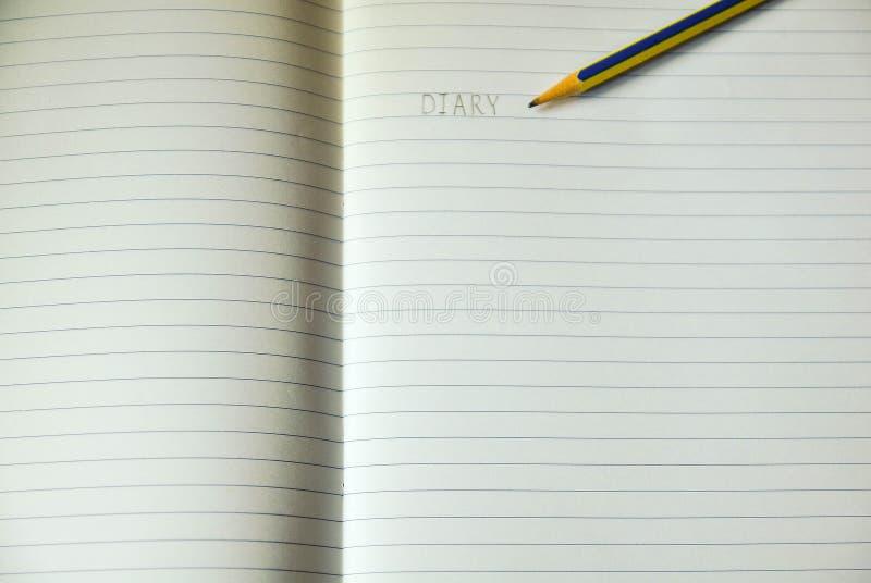 Foglio di carta per appunti allineata immagine stock libera da diritti