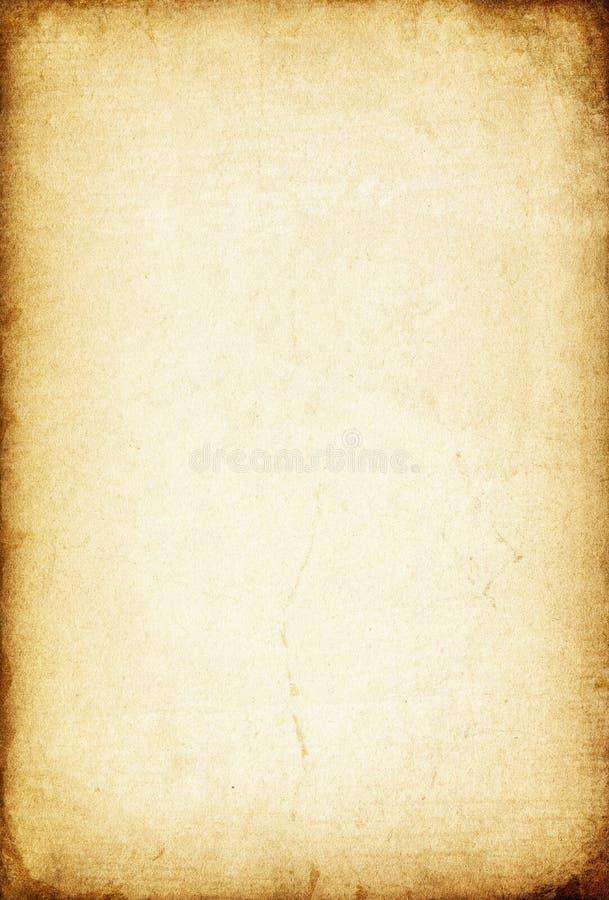 Foglio di vecchia carta. immagini stock libere da diritti