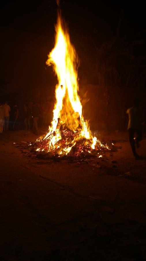 Fogo de Holi fotos de stock