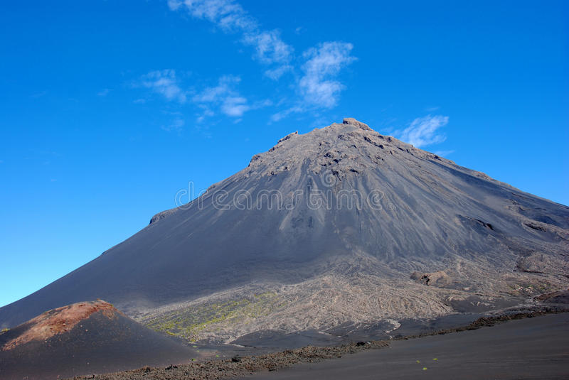 Download Fogo Volcano On Fogo Island, Cape Verde - Africa Stock Photo - Image: 10570708