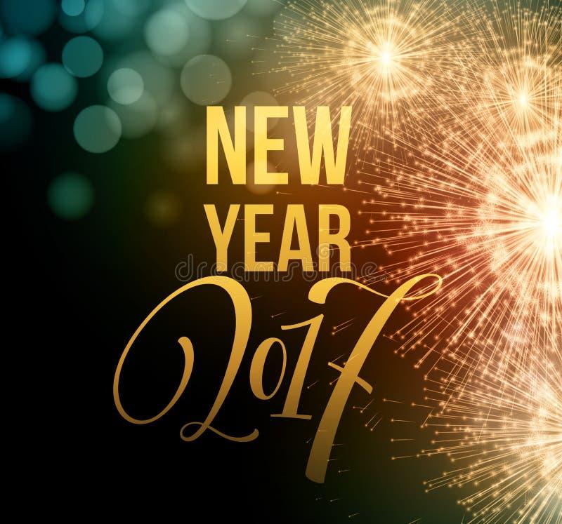 Download Fogos-de-artifício Do Ano Novo E Confetes 2017 Ilustração Do Vetor Ilustração do Vetor - Ilustração de dourado, projeto: 80102398