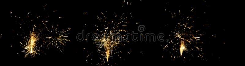 Fogos-de-artifício na noite de Guy Fawkes em Nova Zelândia fotografia de stock royalty free