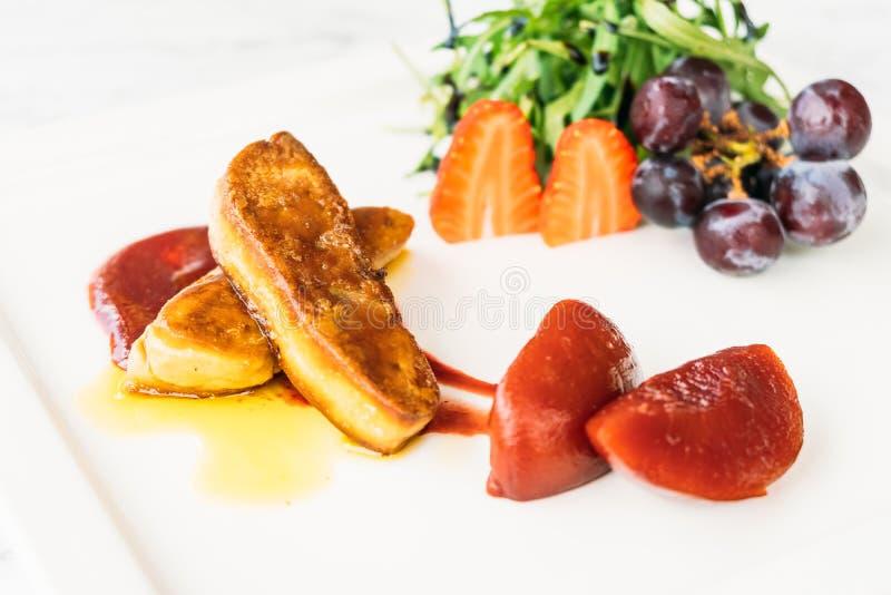 Foie gras royaltyfri fotografi