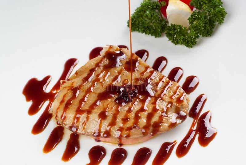 Foie gras stockbild