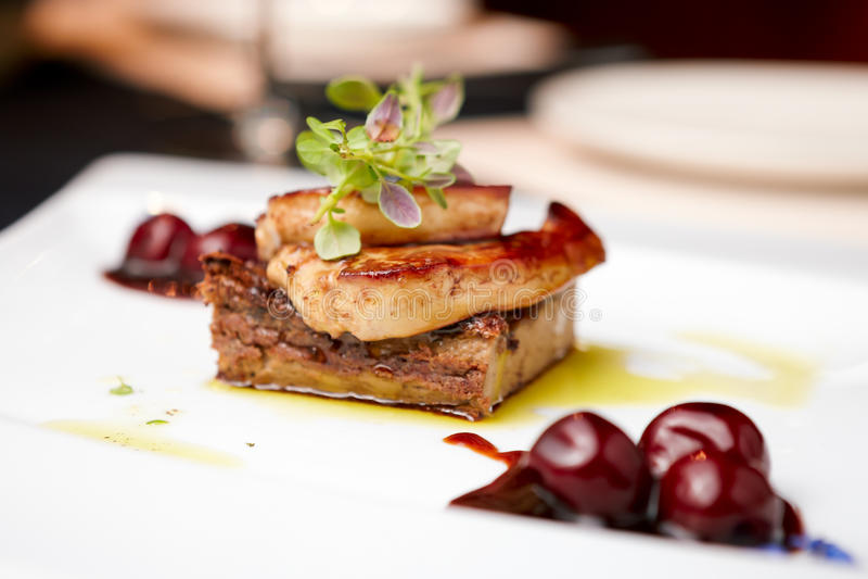 foie gras στοκ φωτογραφία με δικαίωμα ελεύθερης χρήσης
