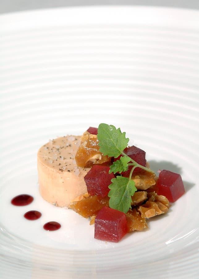 Foie gras stockfotos