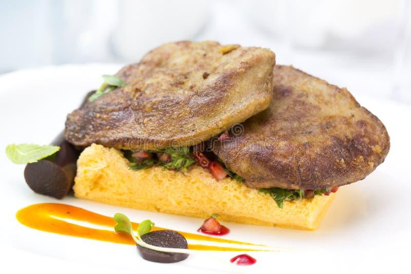 Foie gras arkivfoton