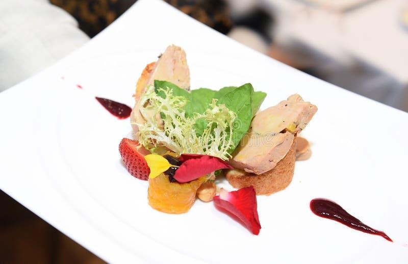 Foie gras royaltyfri bild