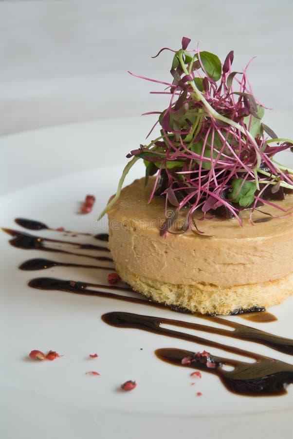 Foie gras Aperitif lizenzfreies stockbild