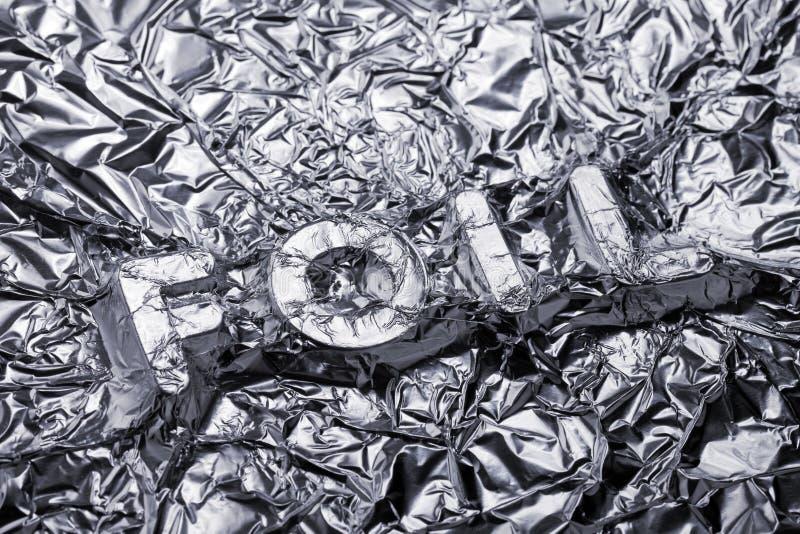 Download Foil stock photo. Image of nobody, encased, word, shape - 26579290
