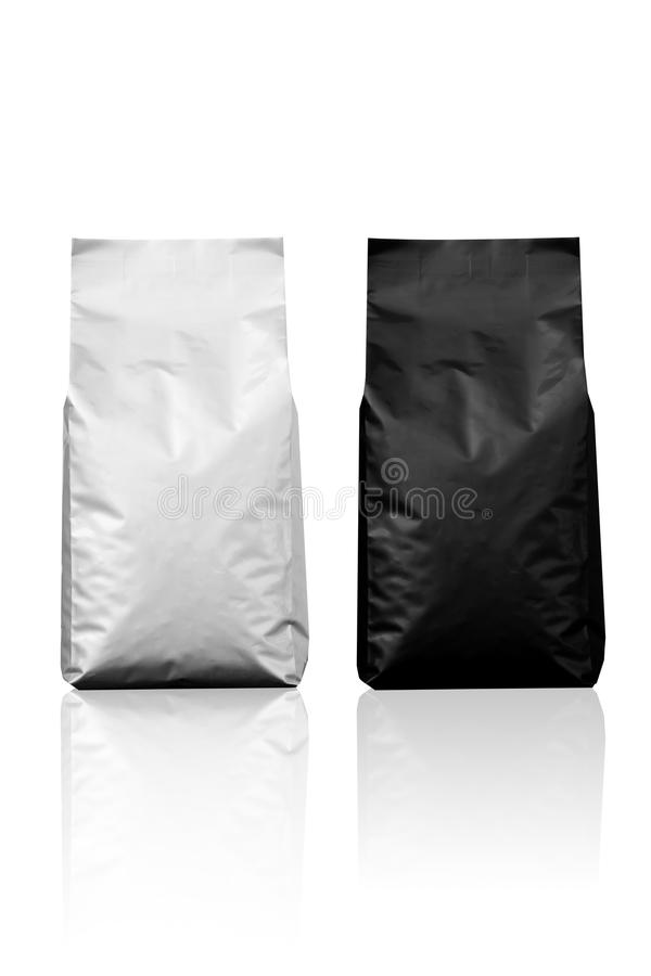 Foil Bag stock image