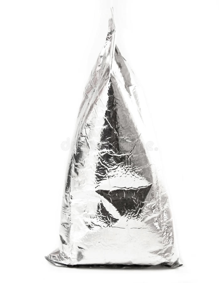 Download Foil package stock image. Image of polythene, empty, achromatic - 15794577