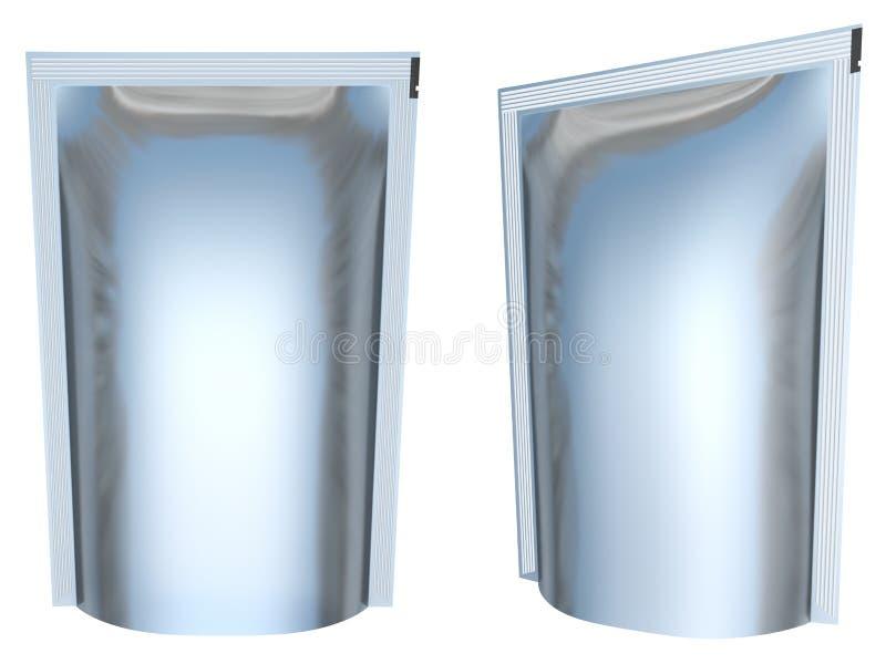 Download Foil packaging stock illustration. Image of template - 24038688