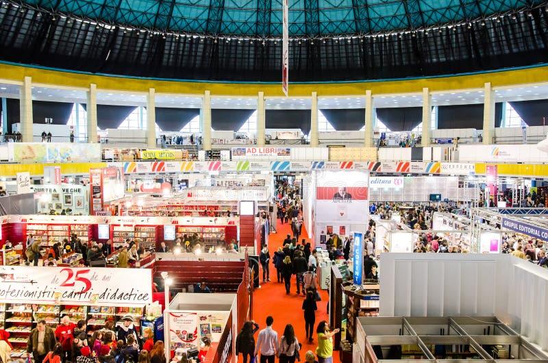 Foire de livre de Gaudeamus, Bucarest, Roumanie 2014 image stock