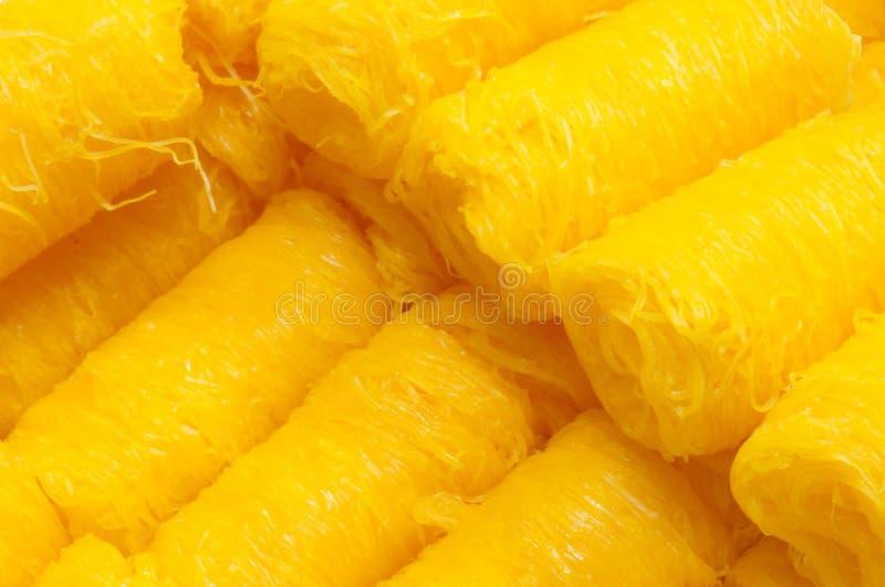 Download Foithong, Thai Sweetmeat Made Of Egg Yolk Stock Photo - Image: 28714070