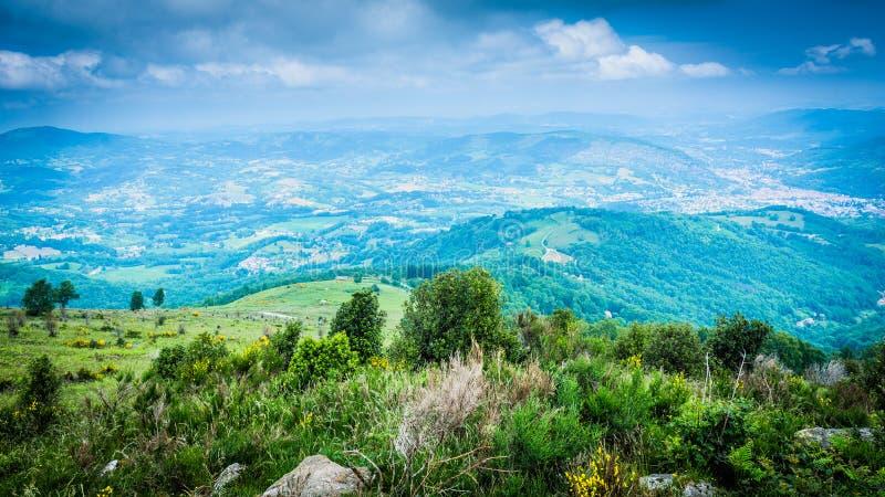 Foix surroundings in Ariege, France. Foix surroundings in Ariege, Midi Pyrenees, France royalty free stock photos
