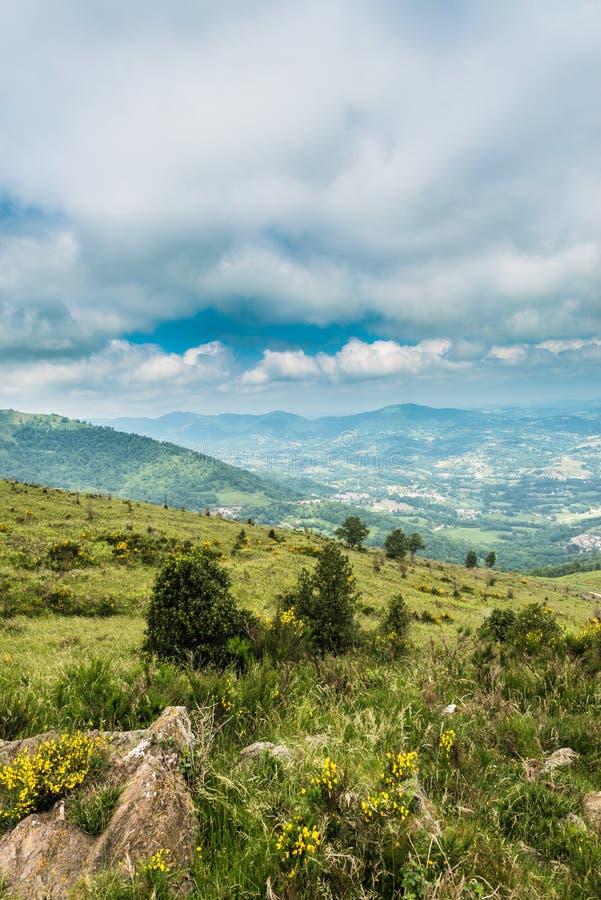 Foix surroundings in Ariege, France. Foix surroundings in Ariege, Midi Pyrenees, France royalty free stock images