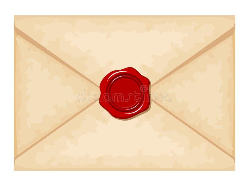 foka kopertowy czerwony wosk również zwrócić corel ilustracji wektora ilustracja wektor