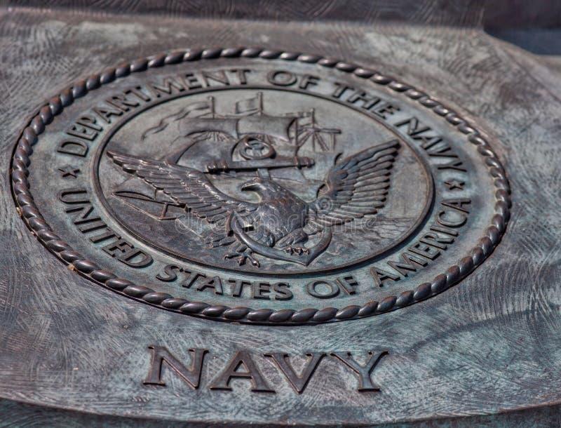 Foka Stany Zjednoczone dział marynarka wojenna obraz stock