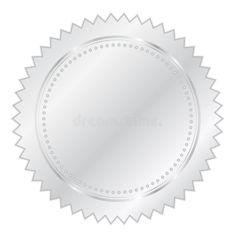 foki srebro ilustracji