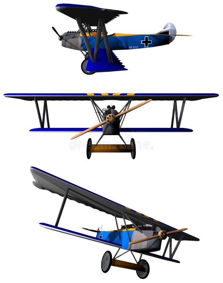 Fokker stock illustratie